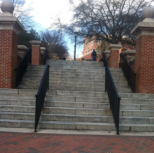 north campus stairs