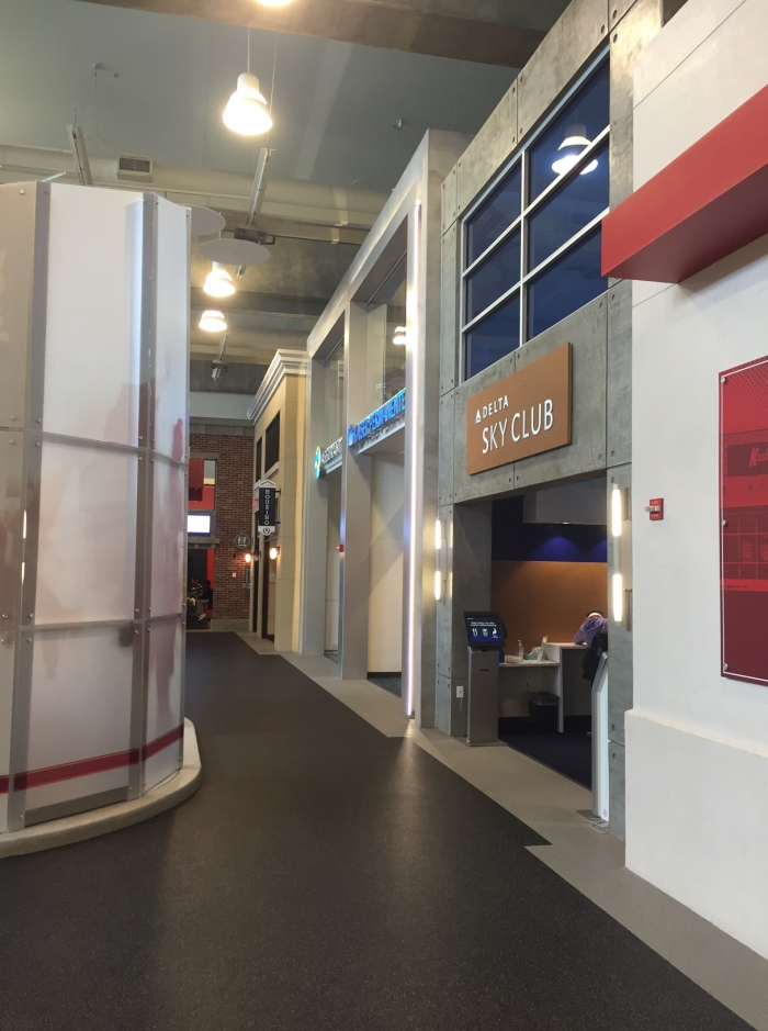 A look at some Finance Park store fronts