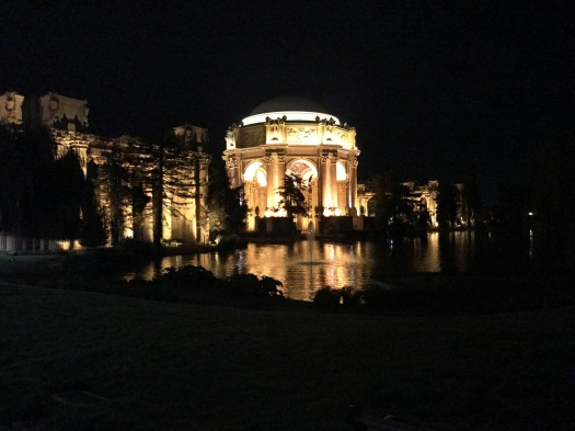 Palace of Fine Arts at 5:00am (connected to Innovation Hangar)